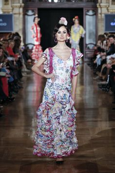 Trajes de Flamenca Pepa Garrido - Una feria en la memoria