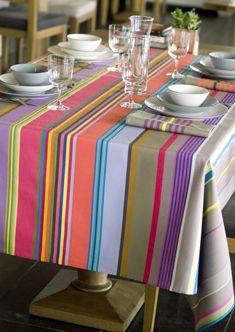Kleurmeester: alles op maat laten maken met gekleurde/gestreepte stoffen