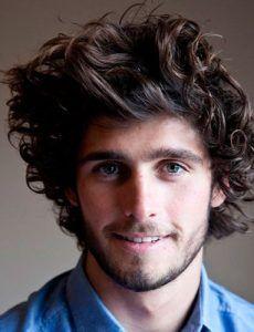 Cortes de cabelo masculino – cabelo ondulado – blog Juba de Leoa por Vivi Najjar
