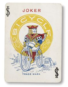 One of the rarest Jokers Bicycle ever made that was issued with a standard deck of playing cards