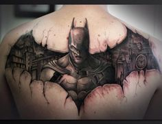 ideas about Batman Tattoo on Pinterest | Marvel tattoos Joker tattoos ...