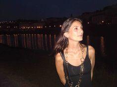 Francesca con collana collezione Unic