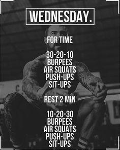 Fitness Workouts, Wod Workout, Calisthenics Workout, Travel Workout, Fit Board Workouts, Boxing Workout, Crossfit Workouts At Home, At Home Workout Plan, Entraînement Boot Camp