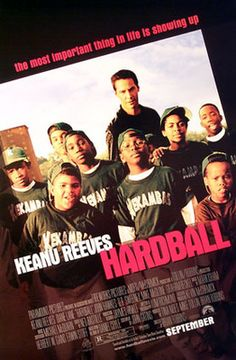 Hardball! A great baseball movie to watch on a night the Syracuse Chiefs don't have a game