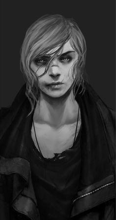ArtStation - Talyn Portrait , Banished Shadow