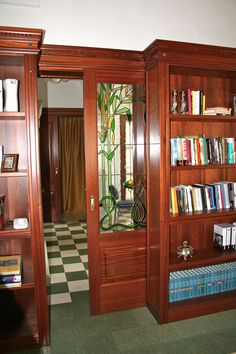 porta scorrevole - libreria