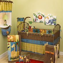 safari animal nursery