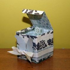 5 More Ways to Make Your Own Gift Boxes (includes a box/lid created from one sheet of paper)