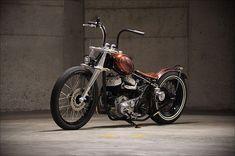 Blown '40 Harley Davidson Side-valve -'Cojones' - Pipeburn - Purveyors of Classic Motorcycles, Cafe Racers & Custom motorbikes