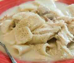BEST Southern Style Chicken and Dumplings