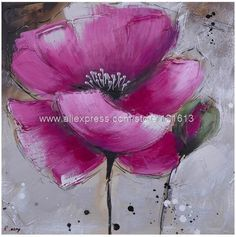 Pintura Al Oleo Abstractos Newart Lotus Oil Paintings Canvas Painting Pop Art Living Room Wall Restaurant Background