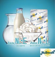 Base NOE e base NOL: le due basi Nutman rispettivamente senza additivi e a basso contenuto di lattosio per ottenere un gelato sempre più naturale e facilmente digeribile! Vieni a provarle al MIG!!
