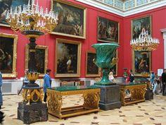 Hermitage Museum - St Petersberg Russia  Someone else appreciates malachite too!