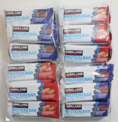 Kirkland Signature Protein Bars Variety Pack (40 Sealed Bars)  #KirklandSignature