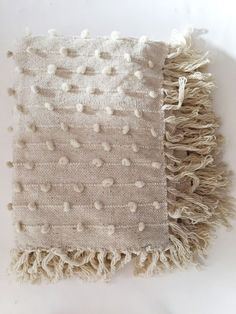 Mexchic Handwoven Palomita Blanket