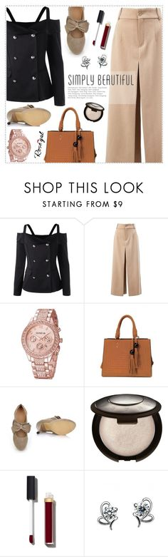"""Rosegal offshoulder top"" by wannanna ❤ liked on Polyvore featuring Chloé and Chanel"