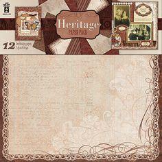 Heritage Paper Pack