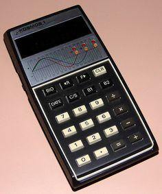 Vintage Kosmos I Biorhythm Calculator, Green Fluorescent Display, Made In Japan, Circa 1970s.