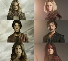 Clarke, Bellamy, and Octavia The 100 Show, The 100 Cast, Bellarke, Cw Series, Series Movies, The 100 Grounders, The 100 Season 1, The 100 Characters, The 100 Serie