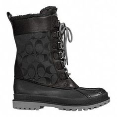 Coach boots....I can't explain why I love these...I just do.