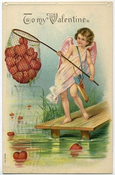 I just like this vintage valentine