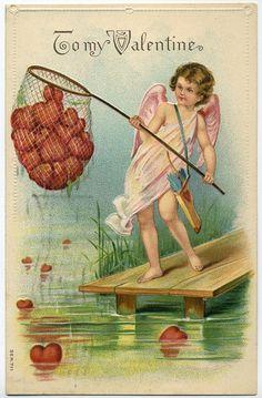 I just like this vintage valentine