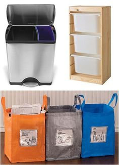Delightful How To Set Up A Home Recycling Station That Works