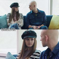 "#RedBandSociety 1x02 ""Sole Searching"" - Emma and Leo"