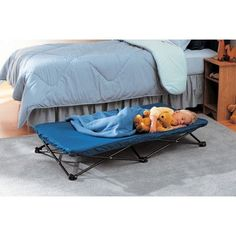Features: -Perfect cot for sleepovers, outings, traveling, camping, day care or lounging around the house. -Incredibly quick and easy to set-up and fold down. -Folds down to a fraction of its set-u