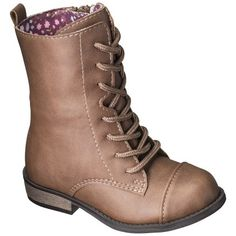 Toddler Girl's Cherokee® Davianna Fashion Boots - Brown These boots are absolutely darling! Bought them for Snugs & she loves them!
