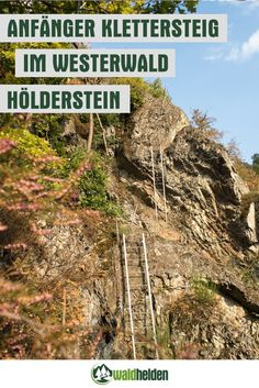 Anfänger Klettersteig am Hölderstein im Westerwald