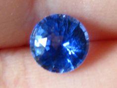 0.7 Carat Cornflower Blue Ceylon Sapphire by JuliaBJewelry on Etsy