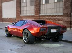 Chris' 1972 DeTomaso Pantera is a custom beauty that is loaded with custom body work and interior modifications.