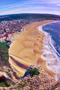 Playa de Nazaré, Portugal