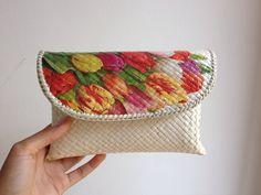 Domsel Pandan  #clutch #bag #decoupage #handmade #souvenir