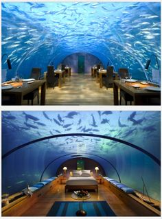 Conrad underwater hotel, Maldives