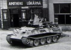 A Panther Ausf D chassis modification