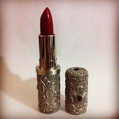 Ornate lipstick case