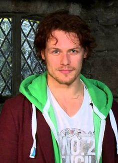 Sam Heughan aka Jamie Fraser... Most handsome man alive!