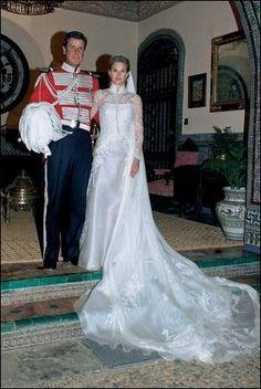 Boda de Cayetano Martinez de Irujo, IV Duque de Arjonay XIV Conde de Salvatierra & Genoveva Casanova. 2005 Hijo Duquesa de Alba.
