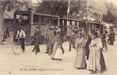 Paseando por el Pardo 1906.