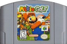 Mario Golf - Game Original Nintendo 64 game cartridge only. All DK's classic used games are cleaned, tested, guaranteed to work and backed by a 120 day warranty. Labyrinth Board Game, 90s Video Games, Barbie Games, Nintendo 64 Games, Original Nintendo, Different Games, Mario Party, School Games, Game Sales