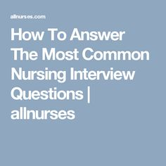 Questions You Were Asked On ER Interview