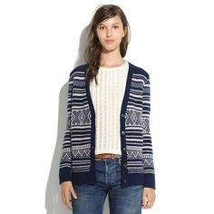 Stitchstripe Cardigan - A Very Merry Sale - Women's Madewell_Feature_Assortment - Madewell