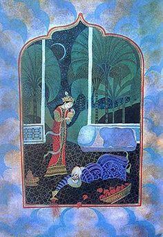 Errol Le Cain, Aladdin illustrations