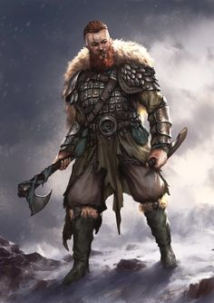 This store created for those person who love vikings. And if you are a viking lover then you can make order for a viking t shirt. Fantasy Warrior, Warrior Concept Art, Fantasy Rpg, Medieval Fantasy, Fantasy Artwork, Viking Warrior, Viking Art, Old Warrior, Viking Woman