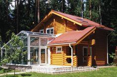 Дом с баней и бассейном Синий лес