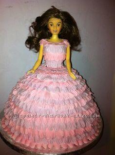 Ballgown Doll cake