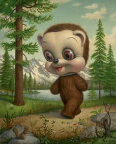 I like Mark Ryden's art, but it is just so bizarre sometimes.  I wonder what Mark Ryden the person is like.