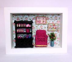 Roombox Perfumaria. À venda no site e sob encomenda:contatolalyblue@gmail.com  www.facebook.com.br/lalybluelembrancascriativas